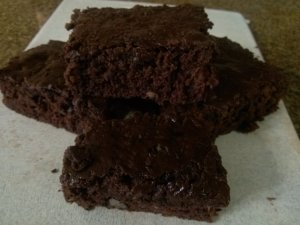picture of Zucchini Brownies