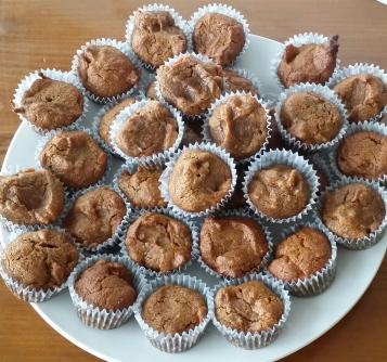 Persimmon Mini-Muffins