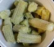 Corn Shucks, Kernels Removed
