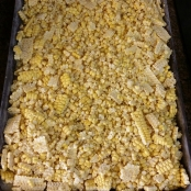 Cookie Sheet with Frozen Kernels
