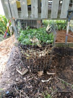 Wire Composting Bin